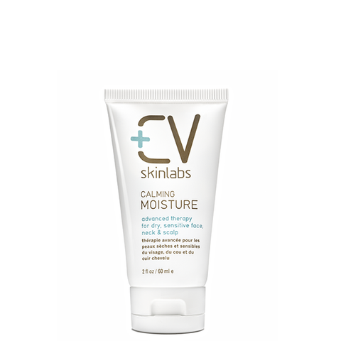 CV Skin Labs Calming Moisture for Face, Neck and Scalp