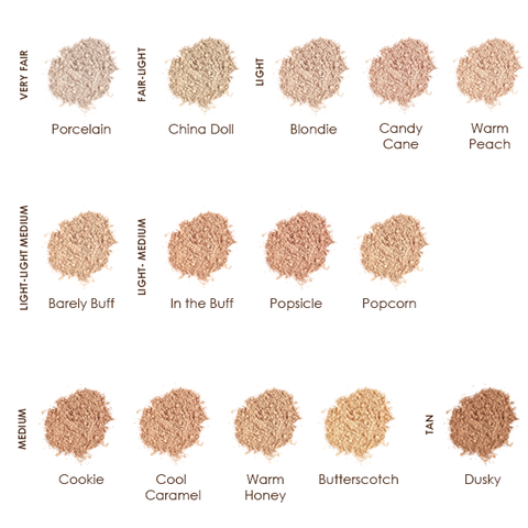lily lolo foundation swatches