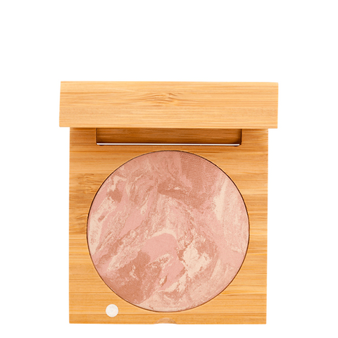 Certified Organic Baked Blush - Rose