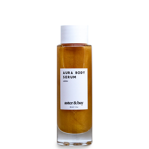aster and bay solstice gold body oil