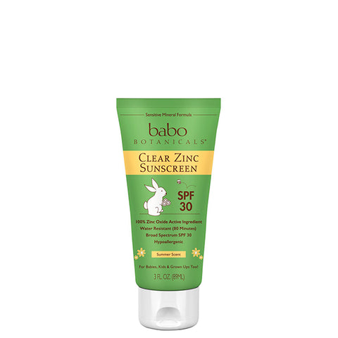 Clear Zinc Sunscreen Lotion SPF 30 - Summer Scent