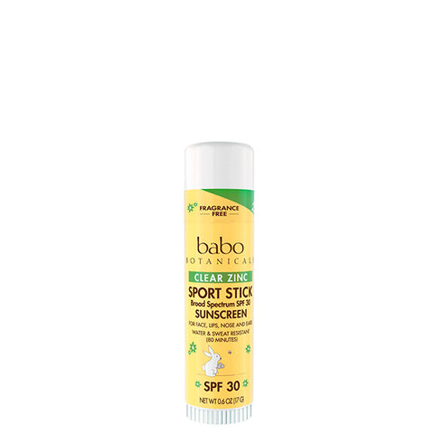 Clear Zinc Sport Stick SPF 30 - Fragrance Free