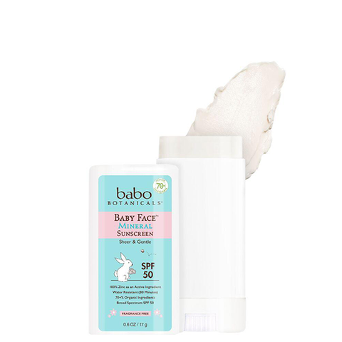 Baby Face™ Mineral Sunscreen Stick SPF 50 - Fragrance Free