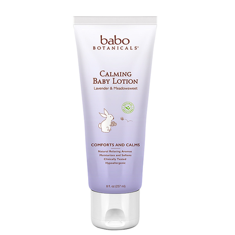 Calming Baby Lotion - Lavender Meadowsweet