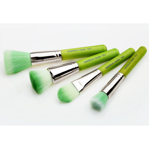 Bdellium Green Bambu Foundation vegan brush set