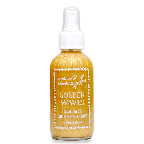 Sample - Golden Waves Sea Salt Shimmer Spray