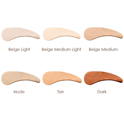 antonym foundation swatches