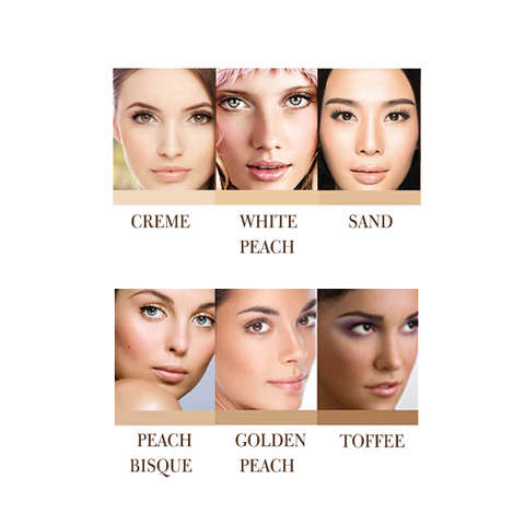 Fruit Pigmented Healthy Skin Foundation Powder with SPF