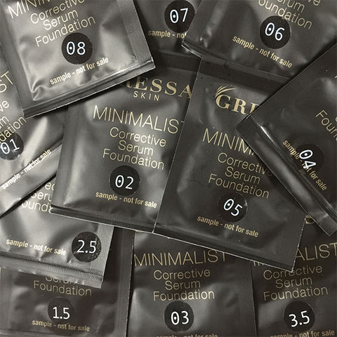 gressa foundation samples