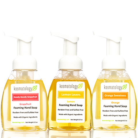 kosmatology hand soap