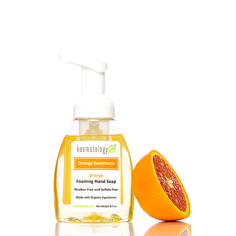 kosmatology orange sweetness soap