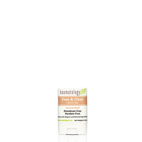 kosmatology unscented lotion bar mini