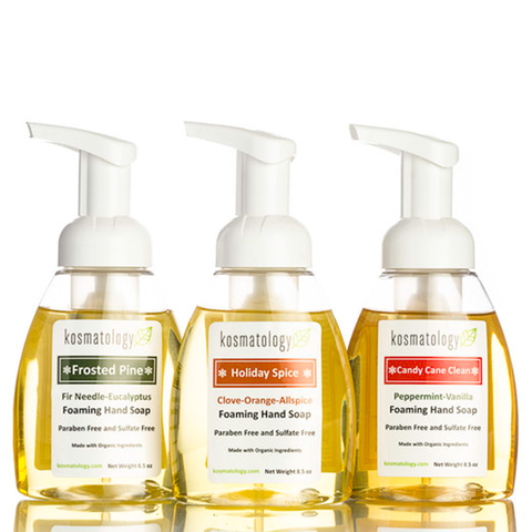 Kosmatology holiday hand soap