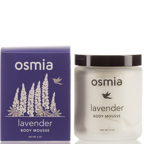 osmia lavender body mousse