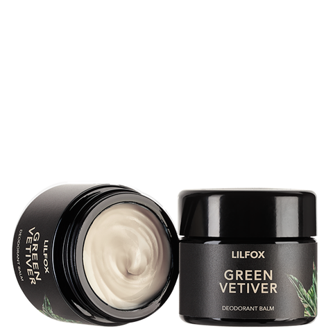 lilfox green vetiver deodorant cream