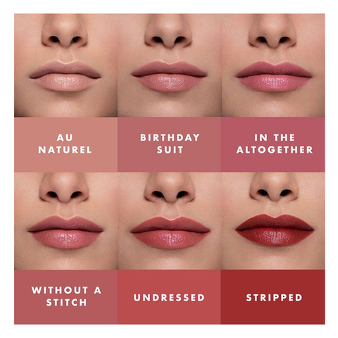 lily lolo vegan lipstick swatches