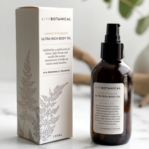 Live Botanical Body Oil
