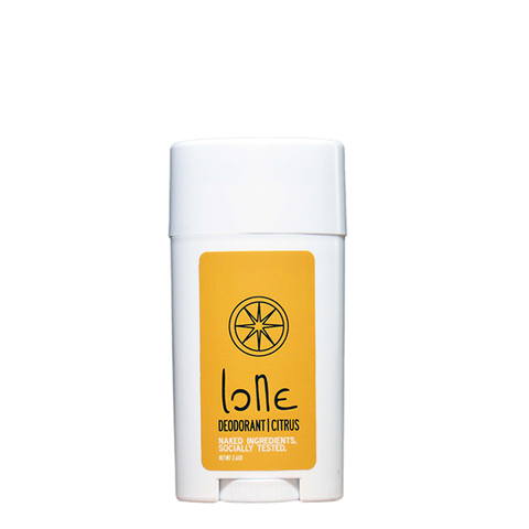 lone body citrus deodorant sample