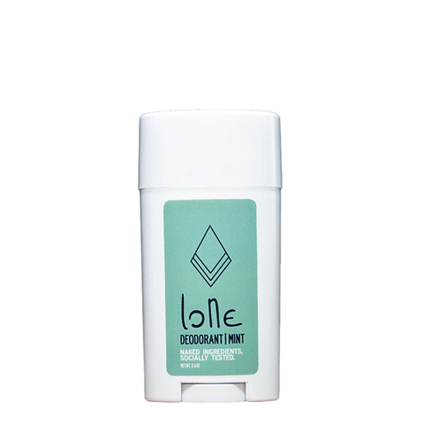 sample lone body mint deodorant