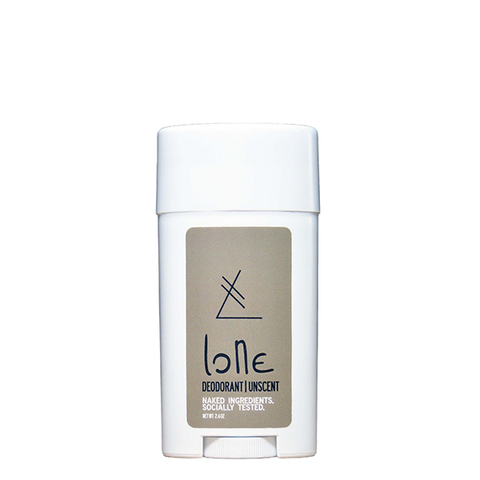 sample lone body unscented deodorant
