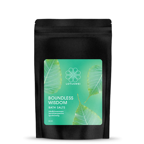 lotus wei boundless wisdom bath salts