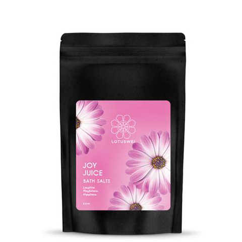 lotus wei joy juice bath salts
