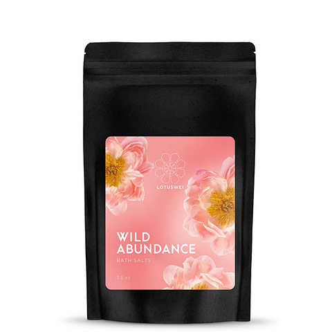 lotus wei wild abundance bath salts