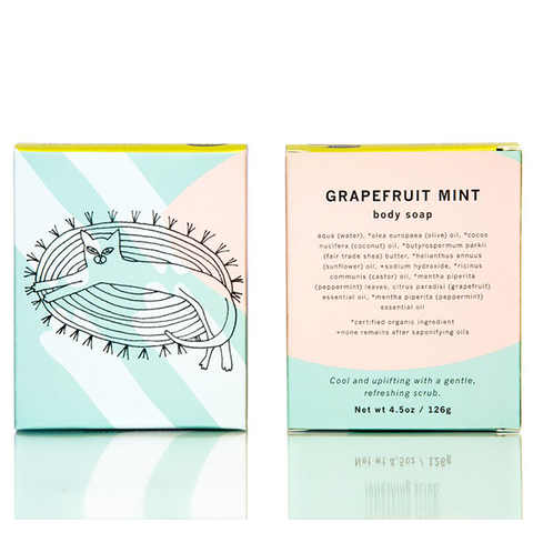 Grapefruit Mint Body Soap