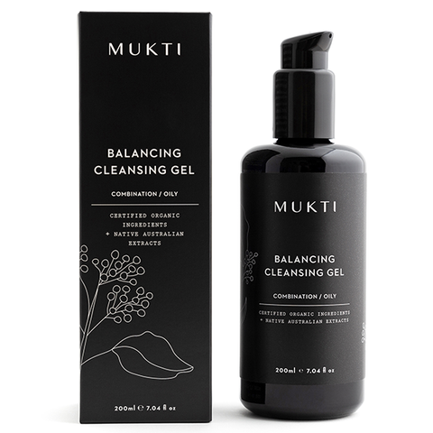 mukti cleansing gel