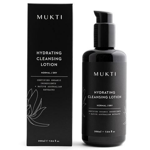 mukti hydrating cleansing lotion