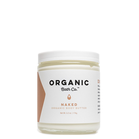 Sample - Organic Body Butter - Naked