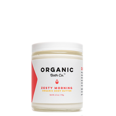 organic bath co zesty morning body butter