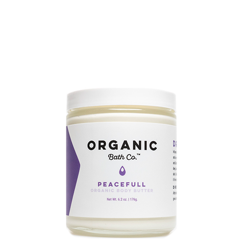 organic bath co body butter peacefull