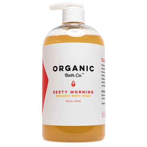 organic batch co body wash zesty morning