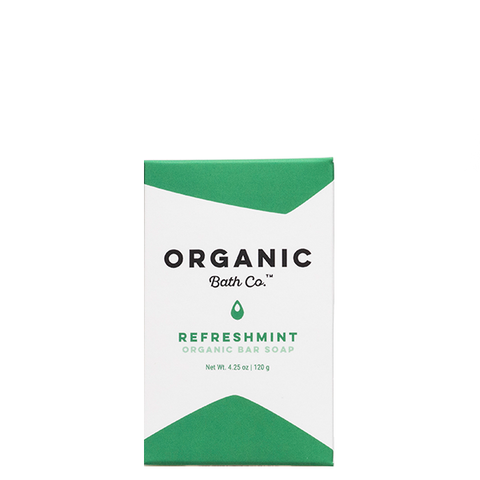 organic bath co refreshmint soap