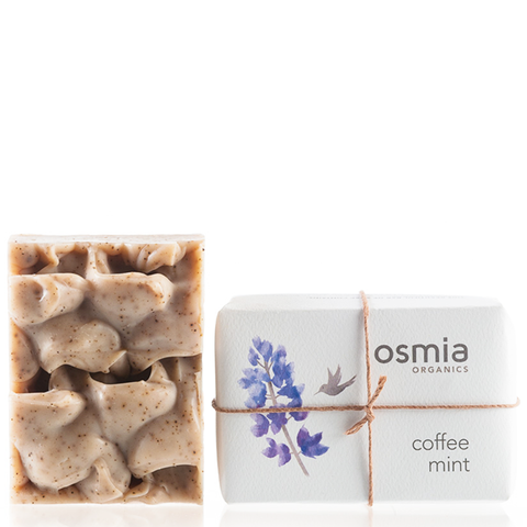 osmia coffee mint soap