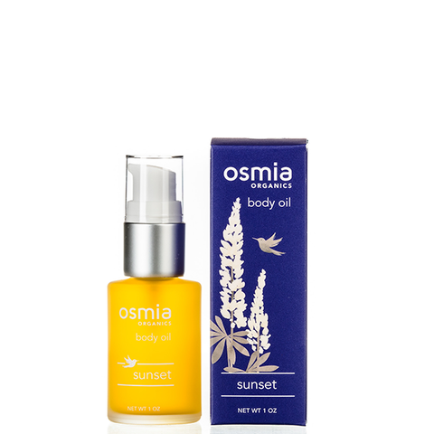 osmia sunset body oil