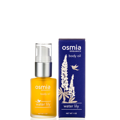 osmia water lily body oil