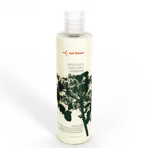 red flower wanderlust body lotion