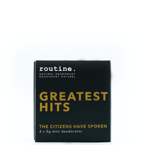 routine greatest hits mini kit