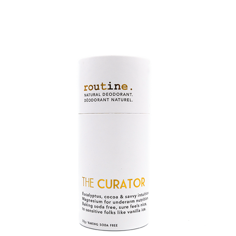 routine the curator stick