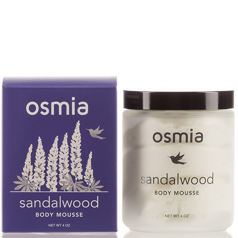 Sandalwood Body Mousse