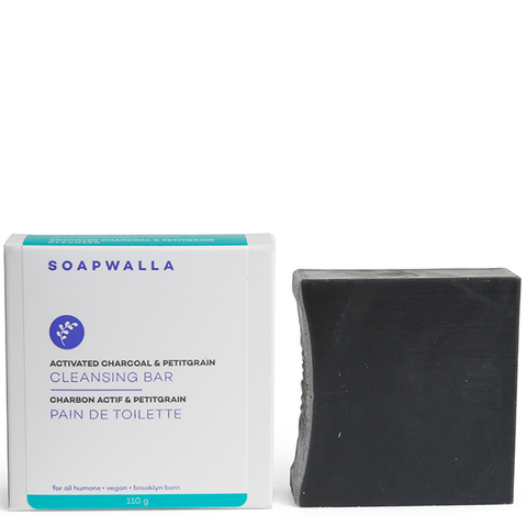soapwalla charcoal cleansing bar