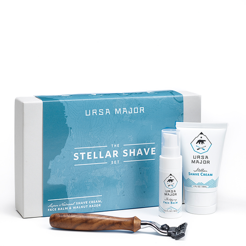 ursa major shaving set