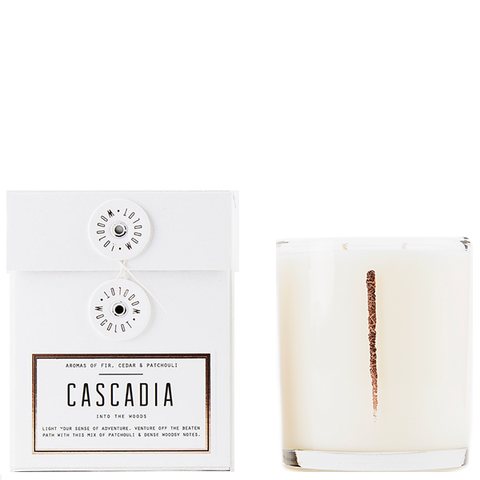 woodlot cascade candle