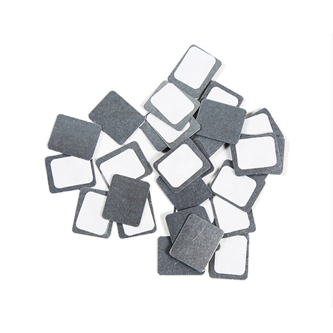square metal stickers