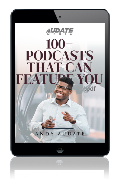 100+ Podcasts That Can Feature You (PDF)