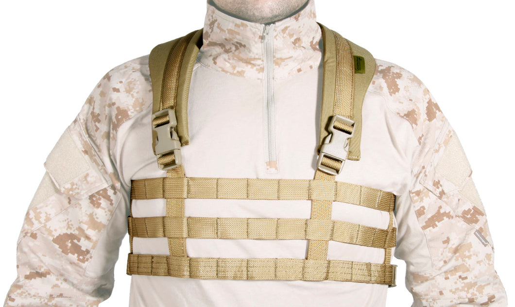 CHEST RIG ULTRA LIGERO TAN GERÓNIMO