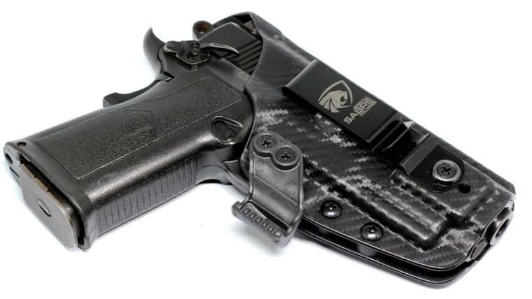 Coldre Slim em Kydex IMBEL .380 TC MD6