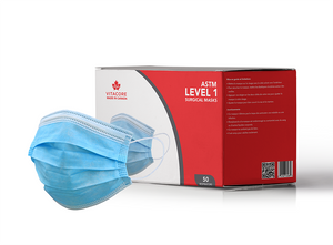 ASTM Level 1 Surgical Mask (Size Small) - 50 Units/Box